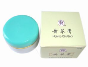 Huang Qin Gao Herbal Cream for Eczema Psoriasis Itchy Skin Rash Abscess
